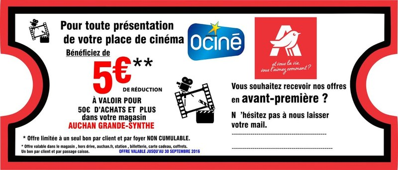 Offre Auchan Grande Synthe